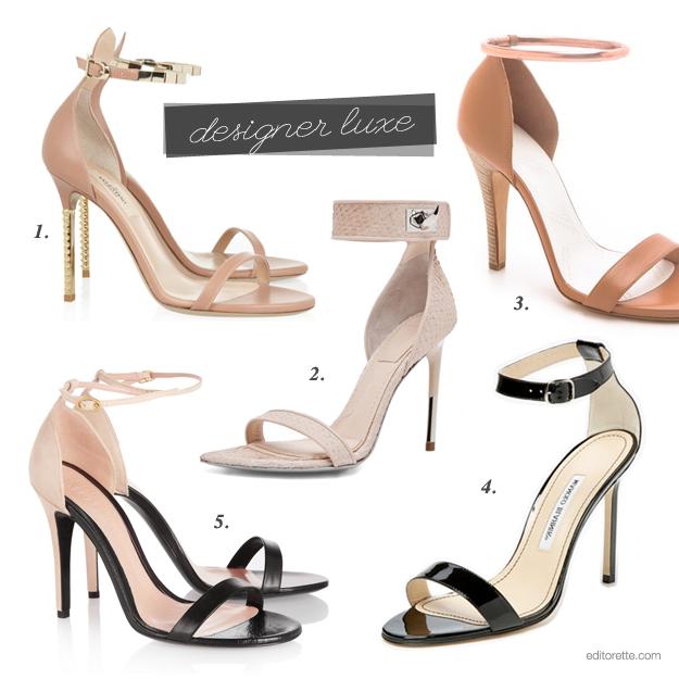 Minimalist Sandal Heel Designer